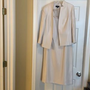 Emily Dressy Dress, Size 10, Pearl Color